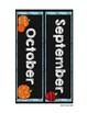 #roomdecor Chalkboard Calendar - BONUS Welcome Banner & Hall Passes