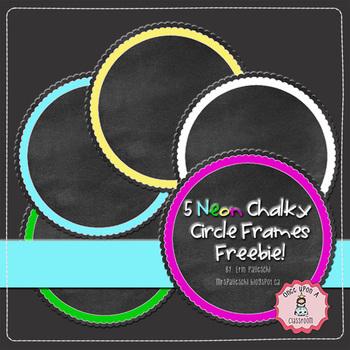 Chalkboard - Chalky Frames FREEBIE!