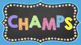 Chalkboard Champs Clip Chart