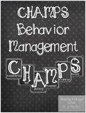 Chalkboard Champs Headings