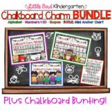 Chalkboard Charm Alphabet, Numbers & Shapes BUNDLE