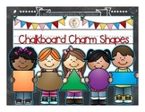 Chalkboard Charm Shapes