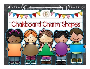 Chalkboard Charm Shapes