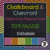Classroom Theme Decor / Organization - Mega Bundle Editabl