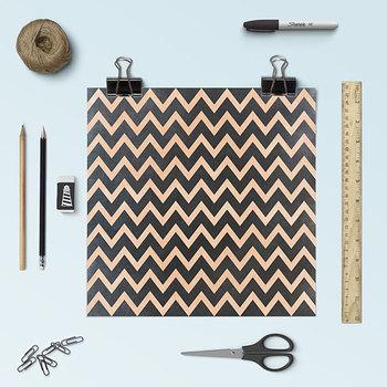 Chalkboard Background, Chalkboard Chevron Digital Paper, Zig-Zag Pattern