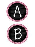 Chalkboard Chic Alphabet