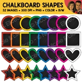 Chalkboard Shapes Clipart