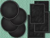 Chalkboard Circles and Frames