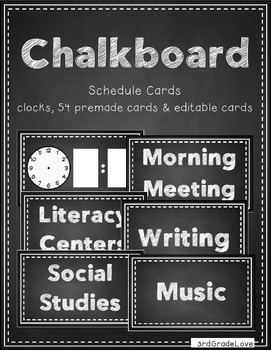 Chalkboard Classroom Decor Bundle