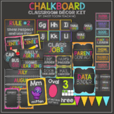 Chalkboard Classroom Decor Kit