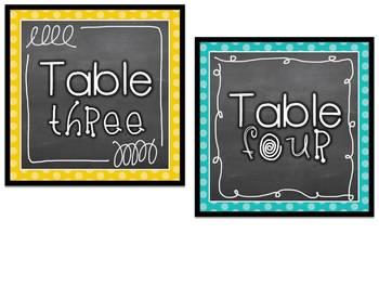 Editable Chalkboard Classroom Decor and More! Bright Herringbone pattern