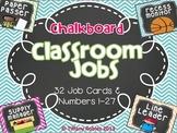 Chalkboard Classroom Jobs