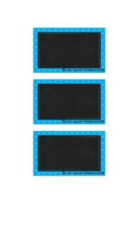 Chalkboard Classroom Library Labels EDITABLE