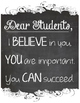 Chalkboard Classroom Poster Set