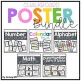 Chalkboard Classroom Posters BUNDLE