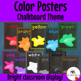 Chalkboard Color/ Colour Posters