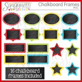 Chalkboard Color Frames