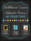 Chalkboard Cursive Alphabet Posters
