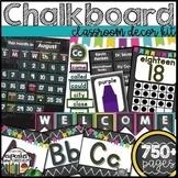 Chalkboard Decor Bundle Editable