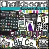 Chalkboard Decor Bundle Editable