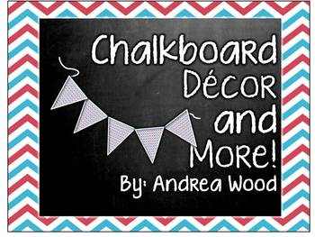 Chalkboard Decor and More