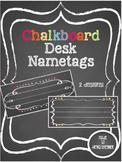 Chalkboard Desk Nametags
