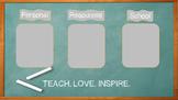 Chalkboard Desktop Background