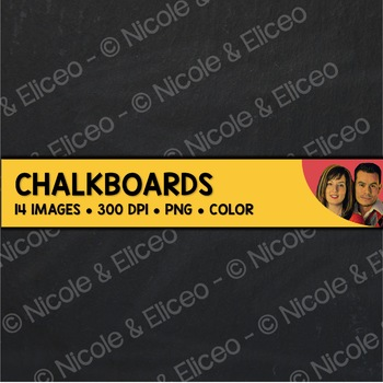 Digital Paper - Chalkboard Backgrounds 2
