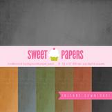 Chalkboard Digital Paper Pack - by Sweet Papers