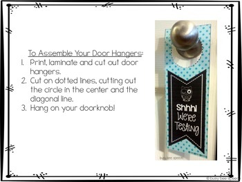 Chalkboard Door-Hanger FREEBIE