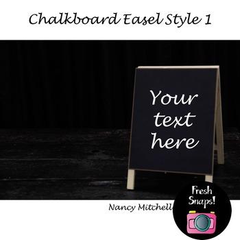 Chalkboard Easel Style 1