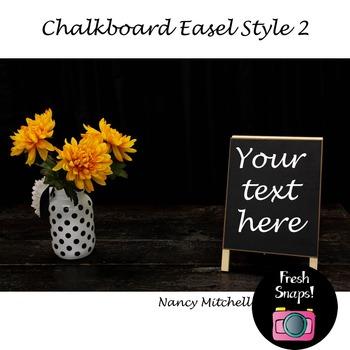 Chalkboard Easel Style 2