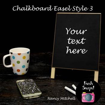 Chalkboard Easel Style 3