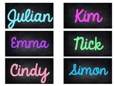 Chalkboard Editable Book Bin Labels