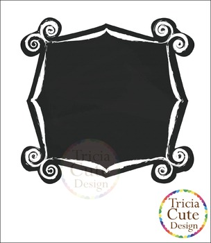Chalkboard clipart Frames / Labels Clip Art