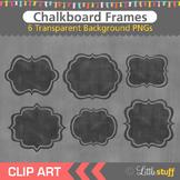 Chalkboard Frames Clipart, Chalk Frame Clip Art