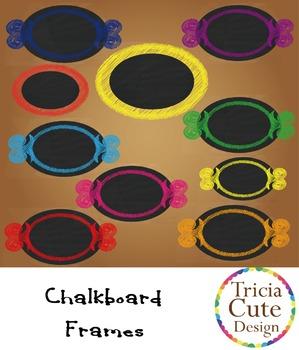 [Free] Chalkboard Frames/Label