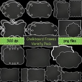 Chalkboard Frames Variety Pack ~ 26 Unique Frames & Labels for Commercial Use