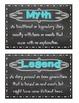 Chalkboard Genre Cards