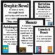 Chalkboard Genre Cards-
