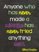 Chalkboard Inspirational Decor - posters
