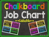 Chalkboard Job Chart EDITABLE