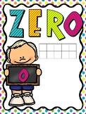 Chalkboard Kids Number Posters