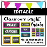 Chalkboard Labels {BRIGHTS}