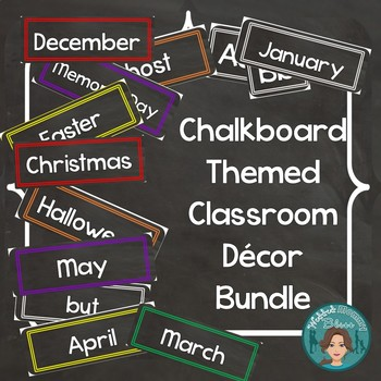Chalkboard Labels Decor for the Classroom Plus Add ons