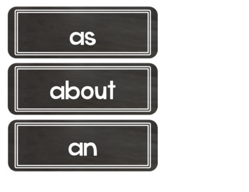 Chalkboard Labels Decor for the Classroom Supplies and Word Wall and more