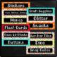 Chalkboard Labels Editable