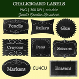 Chalkboard Labels Kit - CU4CU
