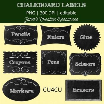 Chalkboard Labels Kit - CU4CU