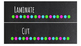 Chalkboard Bright Labels for 10-Drawer BUNDLE (Pink, Aqua, Green, White Dots)